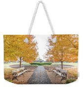 Forest Park Benches Weekender Tote Bag