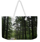 Forest Path At Grafton Notch State Park Weekender Tote Bag
