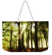 Forest Rays Weekender Tote Bag