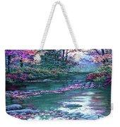 Forest River Scene. L B Weekender Tote Bag