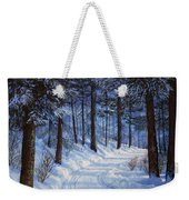Forest Road Weekender Tote Bag