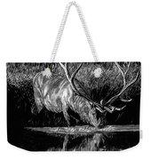 Forest Royal Bull Elk Weekender Tote Bag