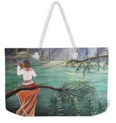 Forest Serenade Weekender Tote Bag