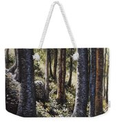 Forest Shadows Weekender Tote Bag