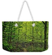 Forest Stairs Weekender Tote Bag