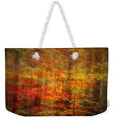 Colorful Forest, Smoky Mountains, Tennessee Weekender Tote Bag