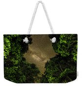 Forest Star Patch Weekender Tote Bag