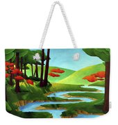 Forest Stream - Through The Forest Series Weekender Tote Bag