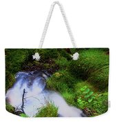 Forest Stream. Benmore Botanic Garden Weekender Tote Bag