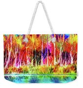 Forest Stream Weekender Tote Bag by Darren Cannell