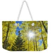 Forest Sunshine Weekender Tote Bag