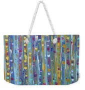 Forest Through The Trees, Abstract Art Weekender Tote Bag