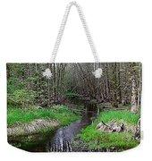 Forest Trees Creek Pathway Weekender Tote Bag