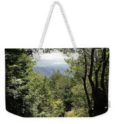 Forest View From Mt Tamalpais Weekender Tote Bag