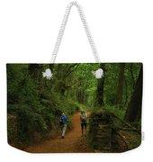 Forest Walkers, El Camino, Spain Weekender Tote Bag