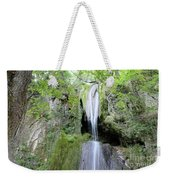 Forest With Waterfall Weekender Tote Bag