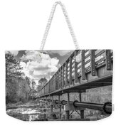 Forever Wild Trail Black And White Weekender Tote Bag