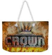 Forged In Fire - Crown - Oil Weekender Tote Bag