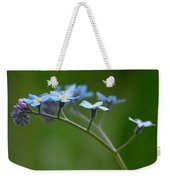 Forget-me-not 2 Weekender Tote Bag