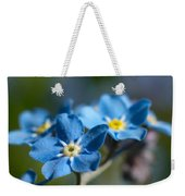 Forget -me-not 3 Weekender Tote Bag
