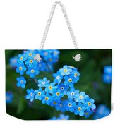 Forget -me-not 5 Weekender Tote Bag