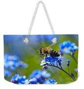 Forget Me Not Bee 2 Weekender Tote Bag