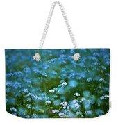 Forget-me-not Flower Patch Weekender Tote Bag