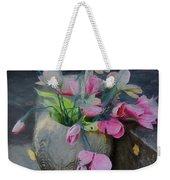 Forgotten Again - Painted Weekender Tote Bag