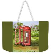 Forgotten Phone Booth Weekender Tote Bag