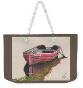 Forgotten Red Boat II Weekender Tote Bag