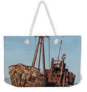 Forgotten Ship Wreck Weekender Tote Bag