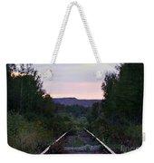 Forgotten Train Track Weekender Tote Bag