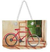 Forlorn Bike Weekender Tote Bag