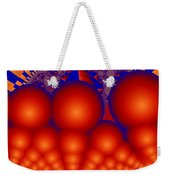 Formation Of Red Orbs Weekender Tote Bag