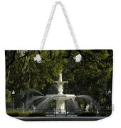 Forsyth Fountain 1858 Weekender Tote Bag