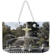 Forsyth Fountain Park Weekender Tote Bag