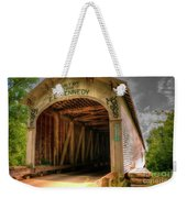 Forsythe Mill Bridge Weekender Tote Bag