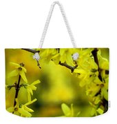 Forsythia At The Hacienda Weekender Tote Bag