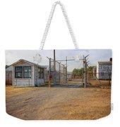 Fort Chaffee Prison Weekender Tote Bag