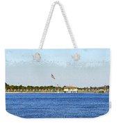 Fort Desoto South Pier Weekender Tote Bag