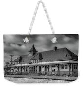 Fort Edward Train Station Weekender Tote Bag
