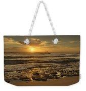 Fort Haze Beach Weekender Tote Bag