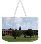 Fort Jefferson Parade Grounds And Harbor Light Weekender Tote Bag