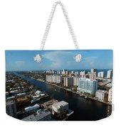 Fort Lauderdale Aerial Photography Weekender Tote Bag
