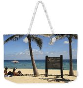Fort Lauderdale Beach Weekender Tote Bag
