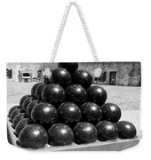 Fort Macon Cannonball Weekender Tote Bag