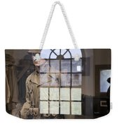 Fort Macon Through Glass Weekender Tote Bag
