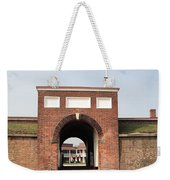 Fort Mchenry Gate In Baltimore Maryland Weekender Tote Bag