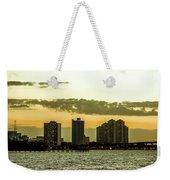 Fort Myers Skyline Weekender Tote Bag