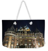 Fort  Of Quebec City At Night Weekender Tote Bag